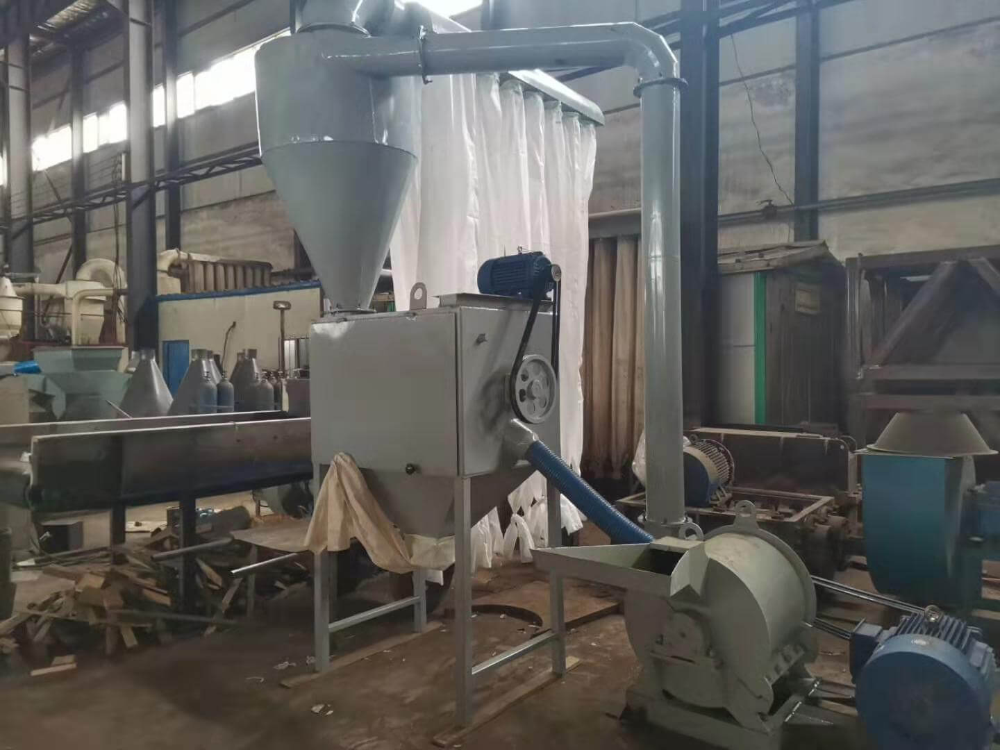 Fier feed mill machine