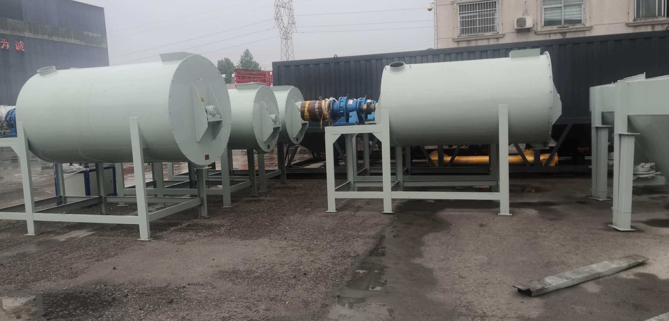ribbon blender/dry mortar plant