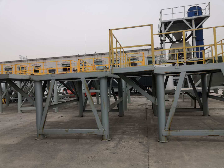 dry mortar plant platform