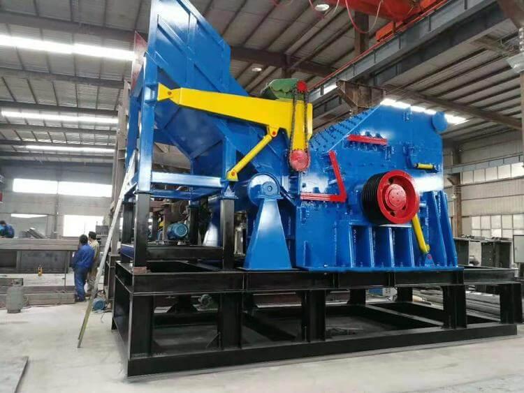 blue metal crusher machine