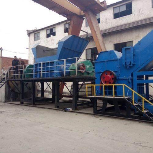 industrial metal crusher machine