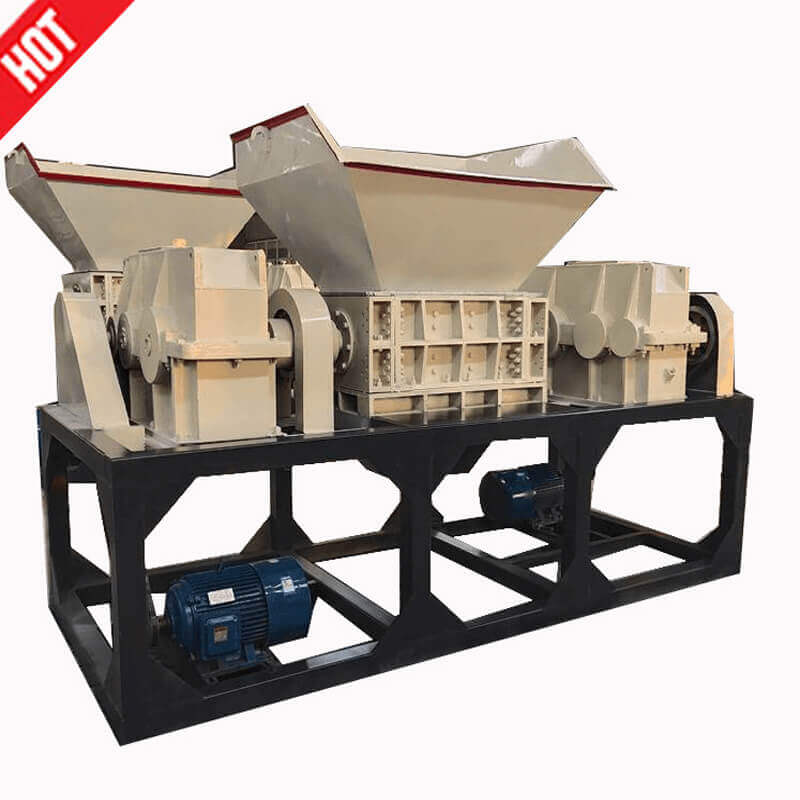 Crusher machine/shredding machine