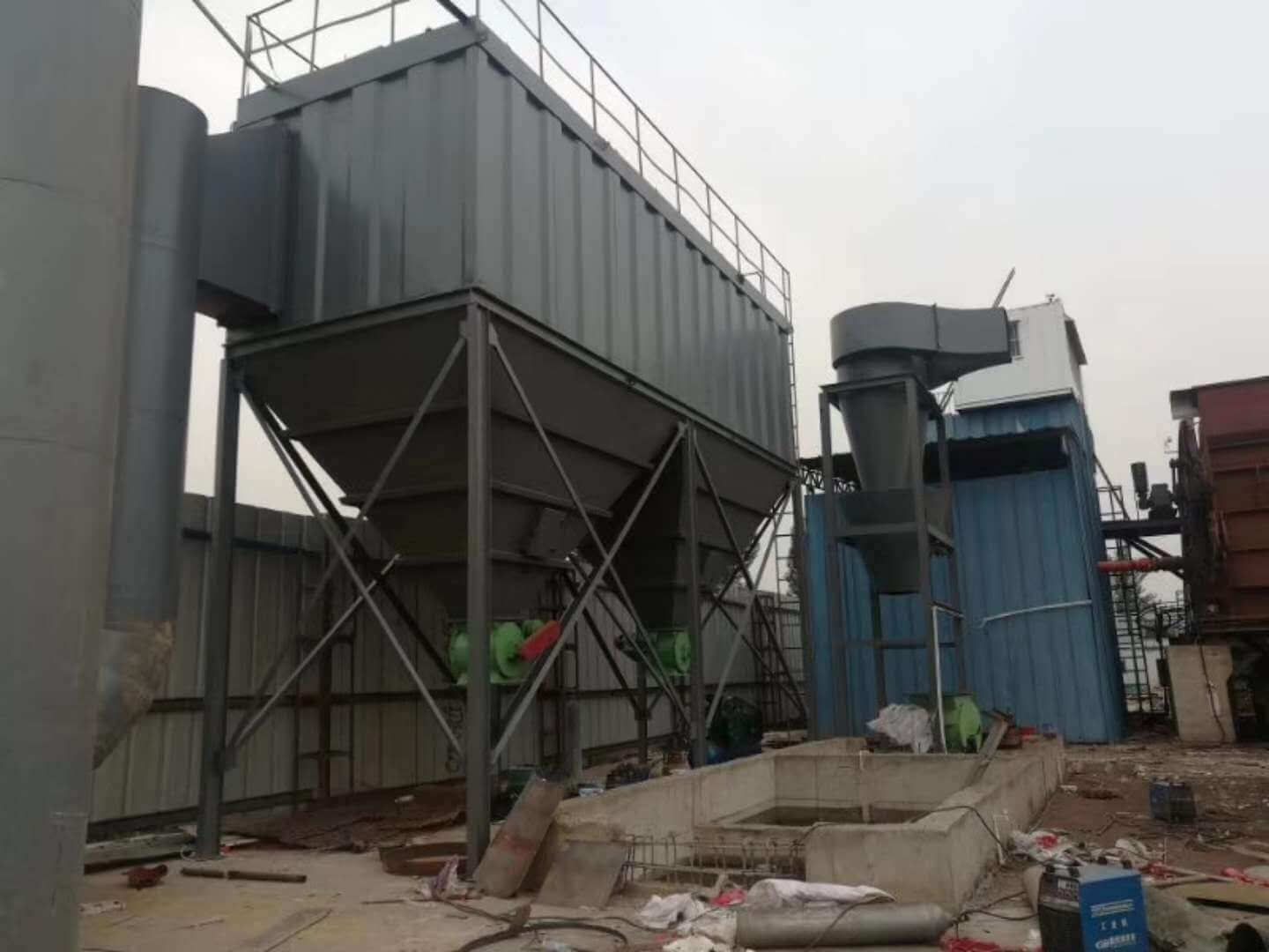 industrial dust collector blower