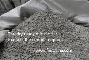 dry mortar/ ready mix mortar