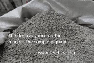 dry mortar/ ready mix mortar