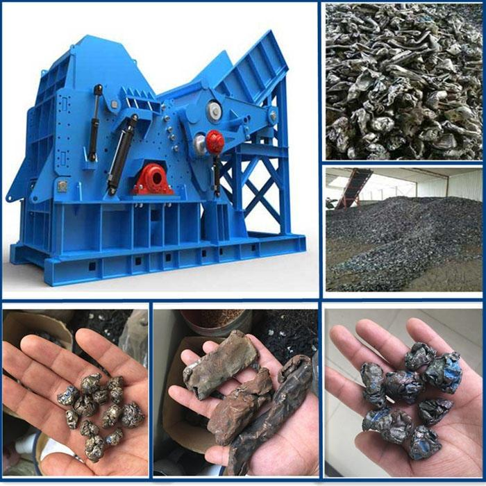 aluminum scrap shredder