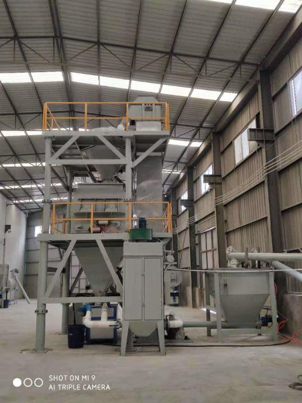 baghouse dust collector for dry mortar plant