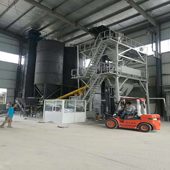 25ton/H Dry Mortar Production Line
