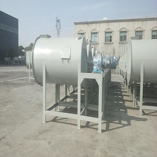 massive cement mixer