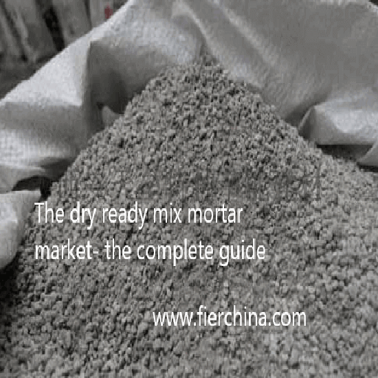 dry mortar plant mix cement sand