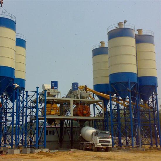 plant cement silo