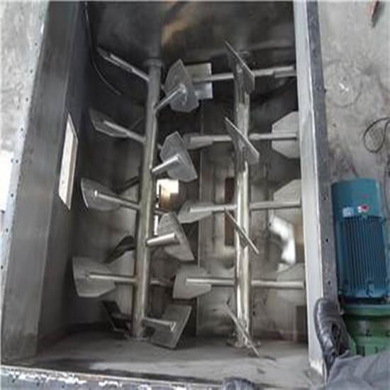 twin shaft mixer parts