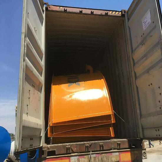 mobile cement silo