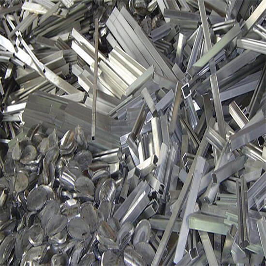 Metal crushing recycling