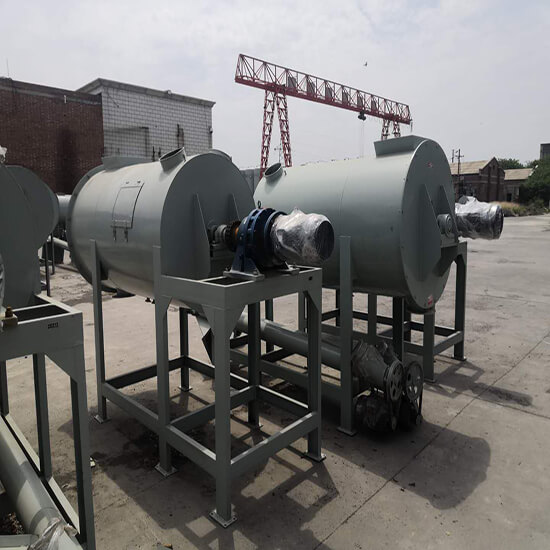Ribbon blender for feed