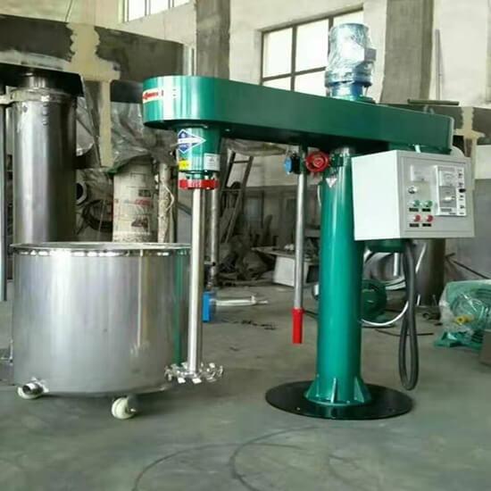industrial paint mixer machine