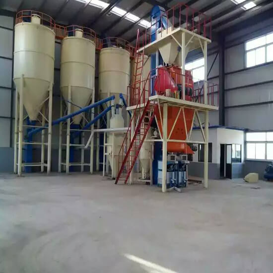 Ready Mix Plaster Plant