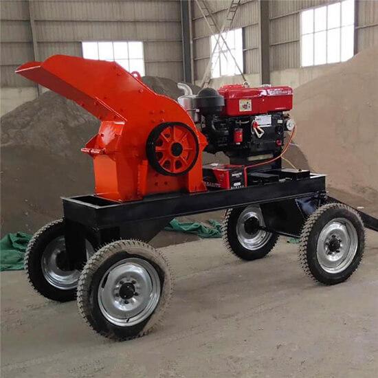 Mobile Hammer Mill Crusher