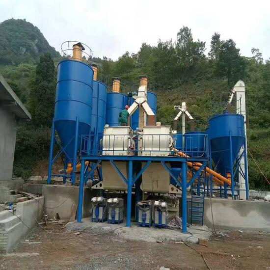 50ton/h Dry Mortar Mixer Mahicne