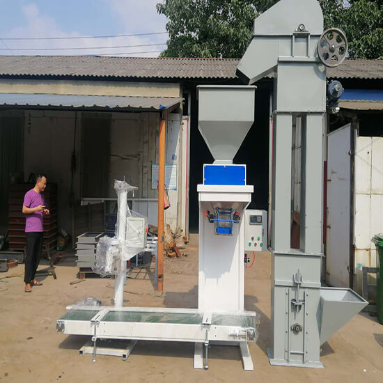 Granules Fertilizer 25kg Bagging Machine