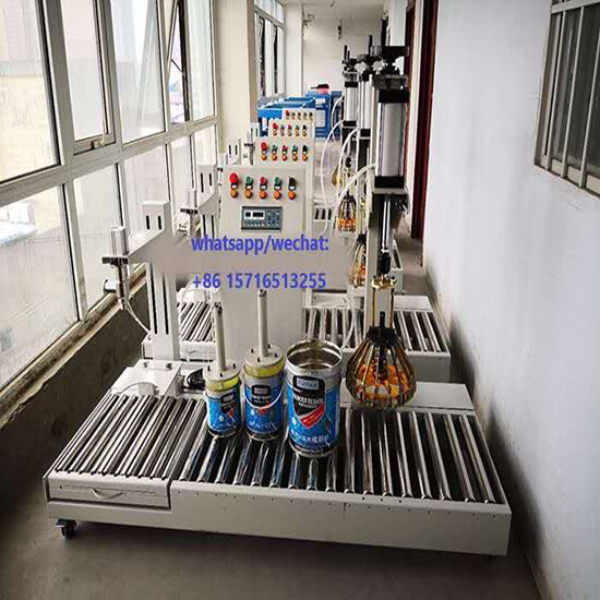 single head big flow liquid filling machine