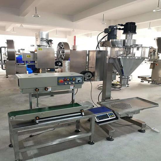 semi auto weighing filling machine