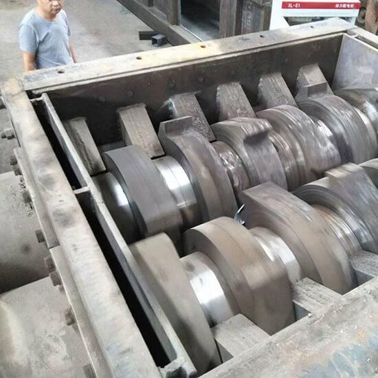 largest scrap metal shredder